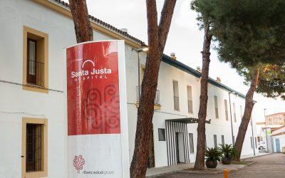 Santa Justa estrena web y se presenta a los vecinos de la provincia en la Feria de Villanueva